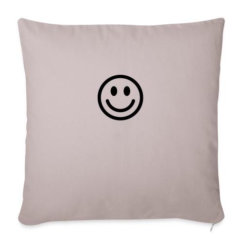 "smile - Throw Pillow Cover 17.5"" x 17.5"""