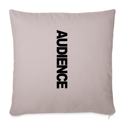 """Audience iphone vertical - Throw Pillow Cover 17.5"""" x 17.5"""""""