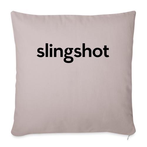 "SlingShot Logo - Throw Pillow Cover 17.5"" x 17.5"""