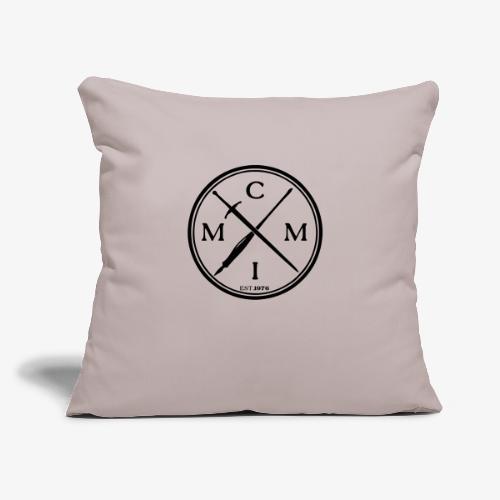"""pen x sword - Throw Pillow Cover 17.5"""" x 17.5"""""""