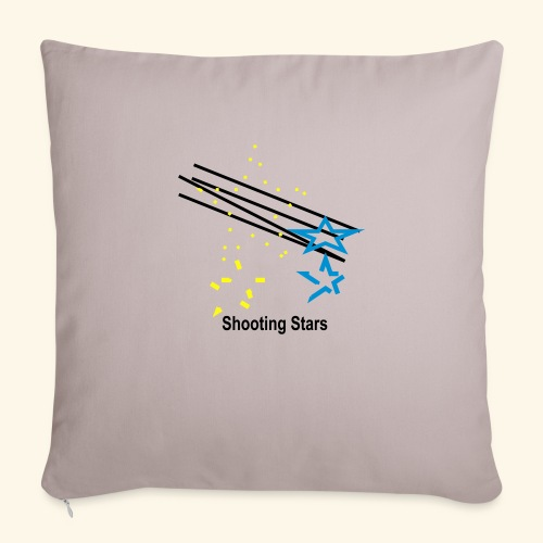 "shooting_stars - Throw Pillow Cover 17.5"" x 17.5"""