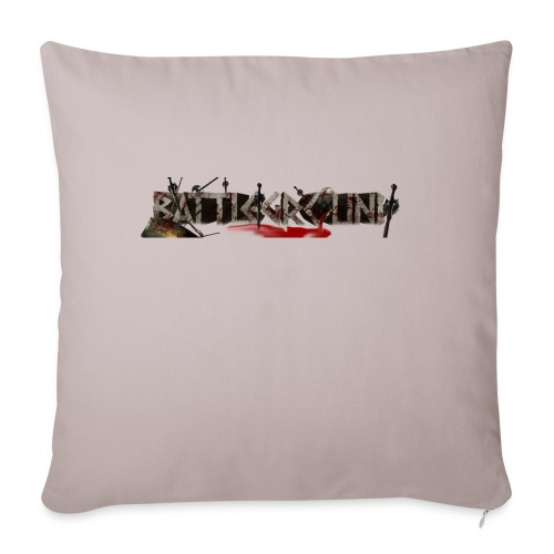 "EoW Battleground - Throw Pillow Cover 18"" x 18"""
