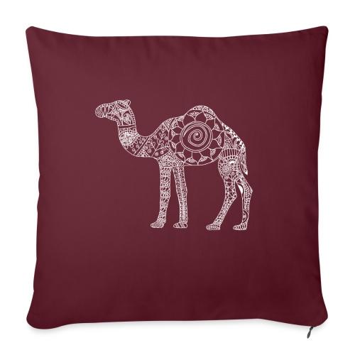 """Camel Mandala - Throw Pillow Cover 18"""" x 18"""""""