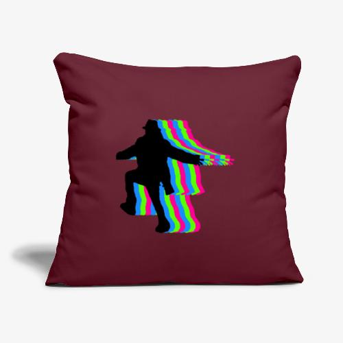 "silhouette rainbow - Throw Pillow Cover 17.5"" x 17.5"""