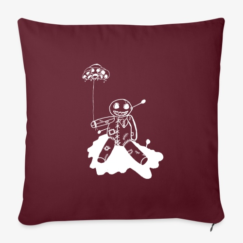 """voodoo inv - Throw Pillow Cover 17.5"""" x 17.5"""""""