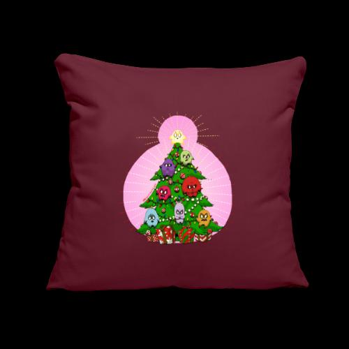 "Christmas 2020 Sick Ridiculous Puppets - Throw Pillow Cover 17.5"" x 17.5"""