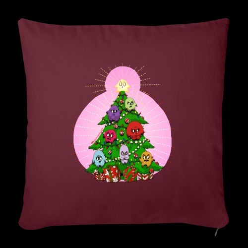 """Christmas 2020 Sick Ridiculous Puppets - Throw Pillow Cover 17.5"""" x 17.5"""""""