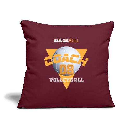 """bulgebull volleyball - Throw Pillow Cover 17.5"""" x 17.5"""""""