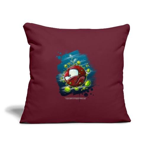 """Covid - Throw Pillow Cover 17.5"""" x 17.5"""""""