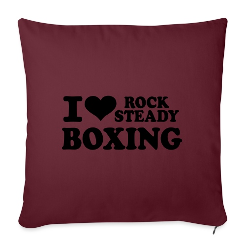 """I Heart RSB - Throw Pillow Cover 17.5"""" x 17.5"""""""