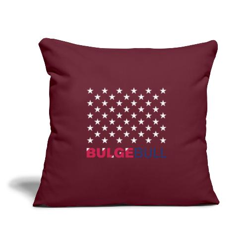 """BULGEBULL JULY 4TH - Throw Pillow Cover 17.5"""" x 17.5"""""""