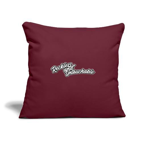 """rau 01 - Throw Pillow Cover 17.5"""" x 17.5"""""""