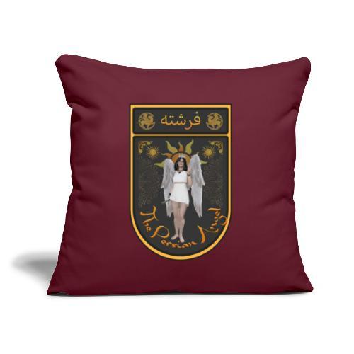 "Persian Angel Anahita - Farsi Angel - Throw Pillow Cover 17.5"" x 17.5"""