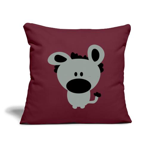 """Funny Dog or Cute Creature Monster w/ Big Nose - Throw Pillow Cover 17.5"""" x 17.5"""""""