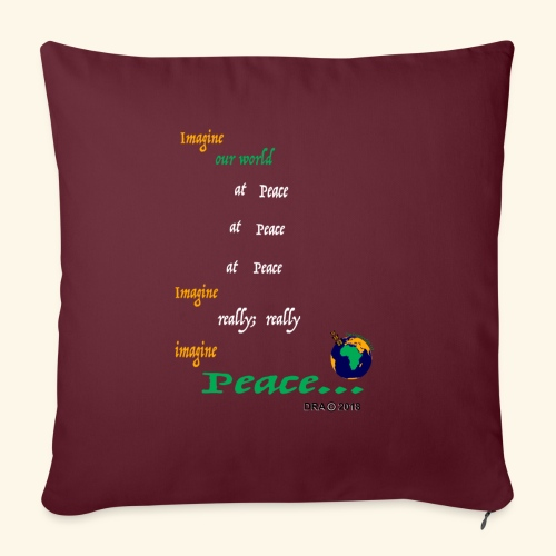 "ReallyW - Throw Pillow Cover 17.5"" x 17.5"""