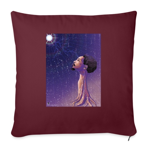 "Enlightening myself - Throw Pillow Cover 17.5"" x 17.5"""