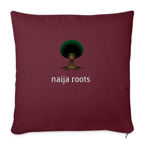 """naijaroots - Throw Pillow Cover 17.5"""" x 17.5"""""""