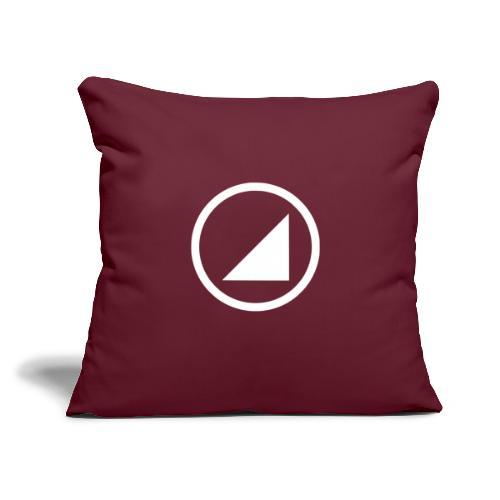 "BULGEBULL - Throw Pillow Cover 17.5"" x 17.5"""