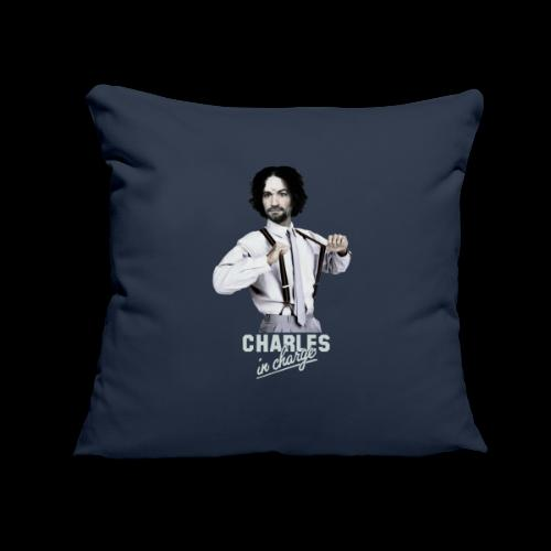 "CHARLEY IN CHARGE - Throw Pillow Cover 17.5"" x 17.5"""