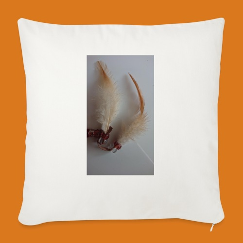 """Feather - Throw Pillow Cover 17.5"""" x 17.5"""""""