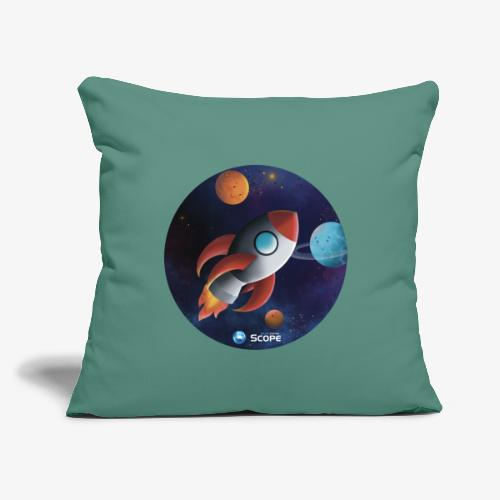 """Solar System Scope : Little Space Explorer - Throw Pillow Cover 17.5"""" x 17.5"""""""