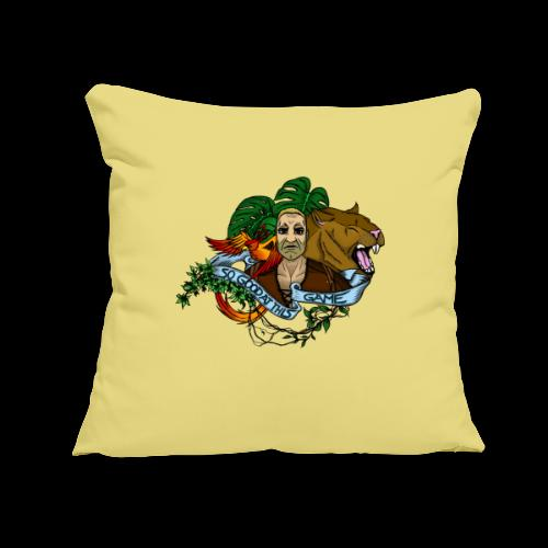 """xB ARK (Tattoo Style) - Throw Pillow Cover 17.5"""" x 17.5"""""""