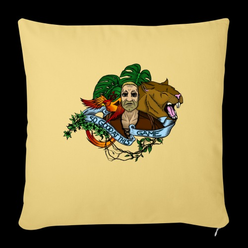 "xB ARK (Tattoo Style) - Throw Pillow Cover 17.5"" x 17.5"""