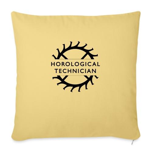 "Horological Technician - Throw Pillow Cover 17.5"" x 17.5"""