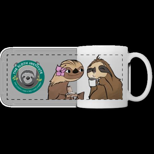 Zac Shirk x TSI - Sloth Love Cafe Mug - Panoramic Mug