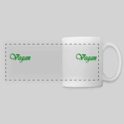 Vegan Panorama Mug - Panoramic Mug