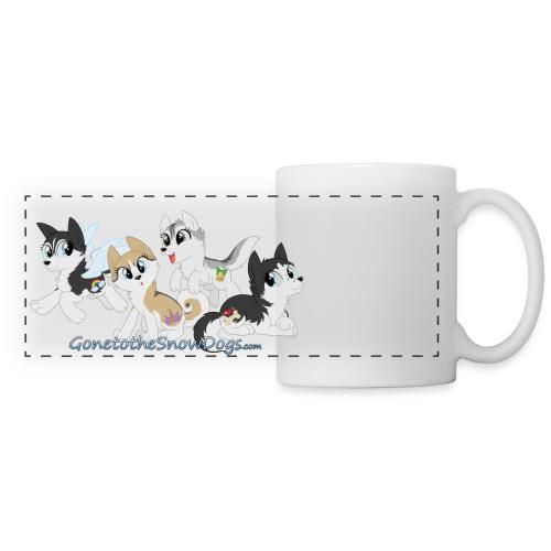 MY LITTLE HUSKYS - Panoramic Mug