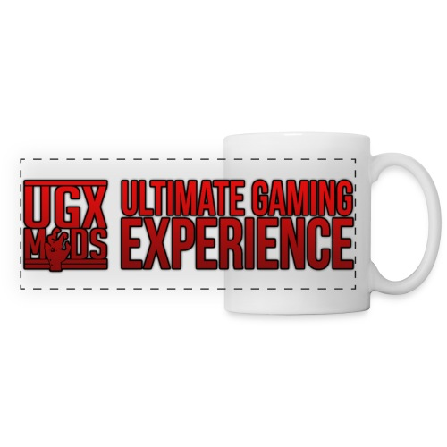UGX Mods Logo YouTube Style png - Panoramic Mug