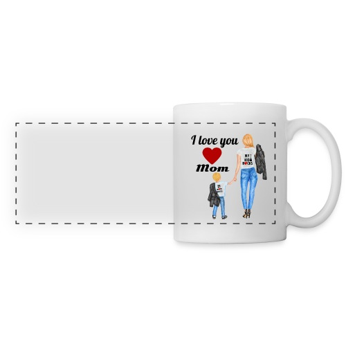 Mother's day gift from daughter, Mother's Day Gift - Panoramic Mug