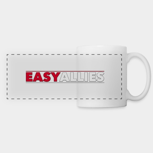 Easy Allies Red Stroke - Panoramic Mug