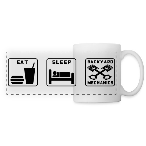 Eat Sleep BM - Panoramic Mug
