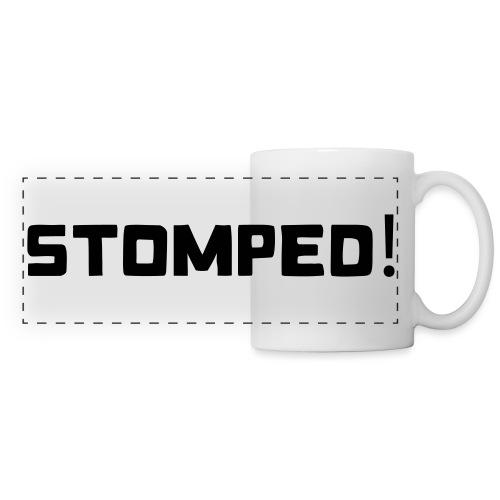 STOMPED black - Panoramic Mug