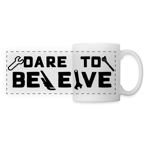 Dare To Beleive - Panoramic Mug