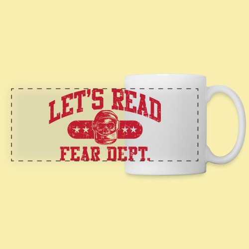 Athletic - Fear Dept. - RED - Panoramic Mug