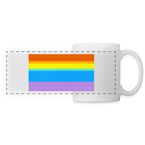 Modern Rainbow II - Panoramic Mug