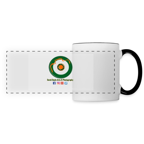 David Doyle Arts & Photography Logo - Panoramic Mug