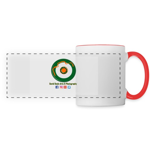 David Doyle Arts & Photography Logo - Panoramic Mug