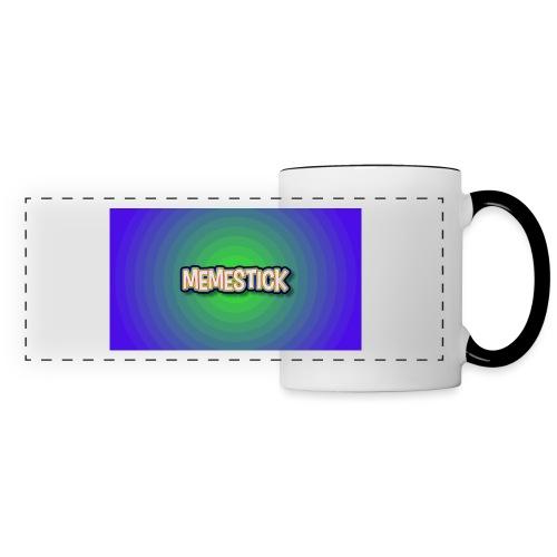 memestick symbol - Panoramic Mug