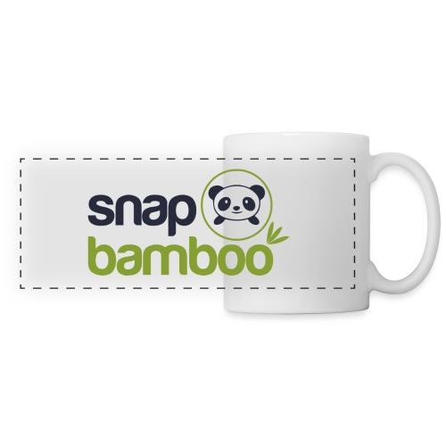 Snap Bamboo Square Logo Branded - Panoramic Mug