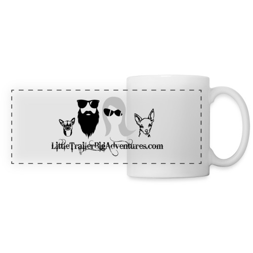 LTBA Heads Logo - Panoramic Mug