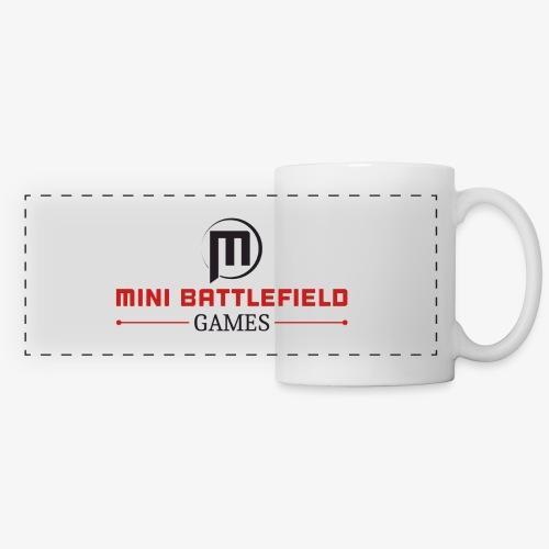 Mini Battlefield Games Logo - Panoramic Mug