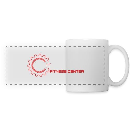 Driven Fitness Horizontal Logo - Panoramic Mug