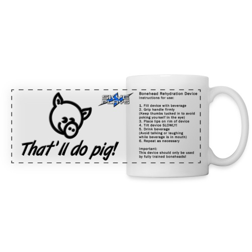 Skye Plays PIG TDP Mug 800ppi png - Panoramic Mug