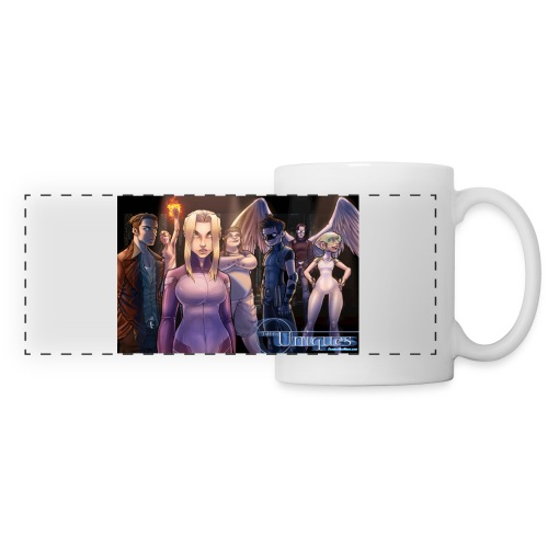 Uniques Wide Standing shot jpg - Panoramic Mug