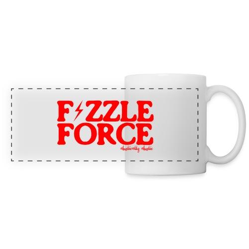 fizzle force red png - Panoramic Mug