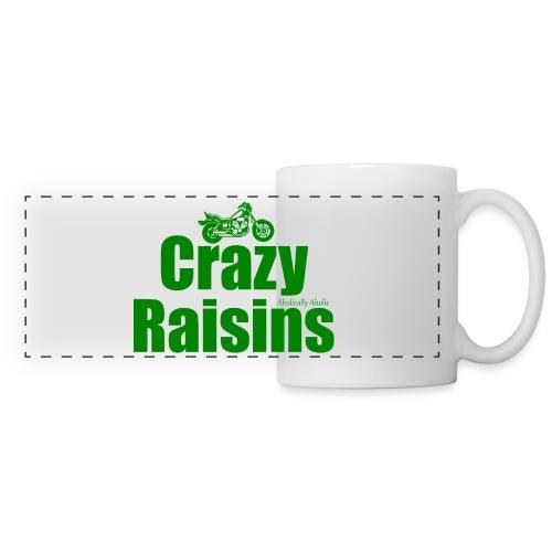 raisins 2 green png - Panoramic Mug